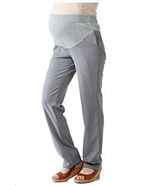 Morph Grey Formal Maternity Pant