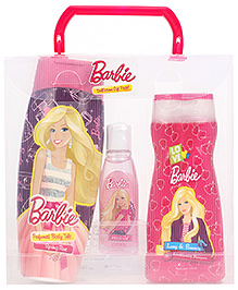 Barbie Dollicious Skin And Hair Care Gift - Pack Of 3