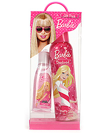 Barbie Gift Pack - Pretty N Pink Deodorant And Hand Gel