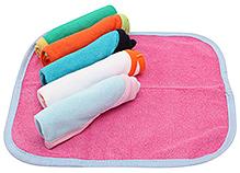 Carters Multicolor Wash Cloths - Set Of 6 Pieces