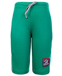Taeko Three Fourth Bermuda Shorts With Drawstring Green