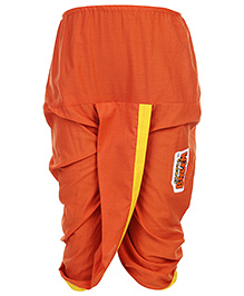 Kappa Chhoat Bheem Dhoti - Orange