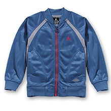 Jordan Full Sleves Aj1 Muscle Jacket - Blue