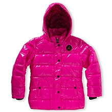 Jordan Super Fly Bubble Jacket Pink
