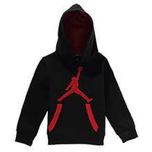Jordon Hooded Sweatshirt - Black
