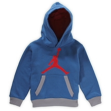 Jordon Hooded Sweatshirt - Blue