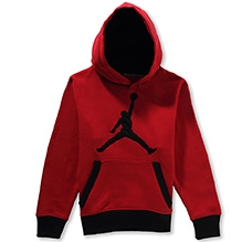 Jordon Hooded Sweatshirt - Red