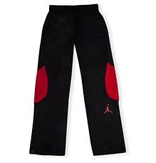 Jordan Dri Fit Track Pants Black And Red