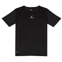 Jordan Jumpman Dri Fit Half Sleeves Tee Black