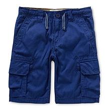 LEVIS Deck Cargo Shorts WSelvedge Blue