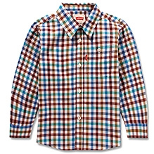LEVIS Full Sleeves Bartlett Work Shirt - Checks Pattern