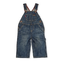 LEVIS Overall With Snappy Tape Dungaree Indigo