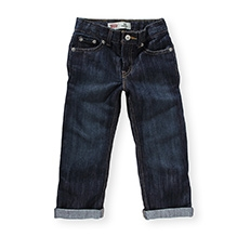 Levis Straight Fit 514 Jeans Navy Blue