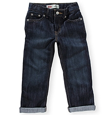 LEVIS Straight Fit 514 Jeans - Navy BLue