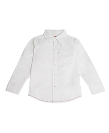 LEVIS Full Sleeves Solid Cunningham Shirt - White