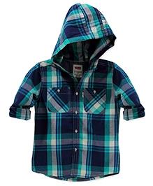 LEVIS Alvarado Hooded Woven Shirt