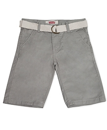 LEVIS Belted Riviera Shorts - Grey