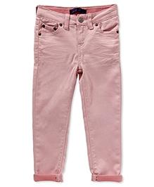 LEVIS Daria Cuffed Denim Jeans - Pink