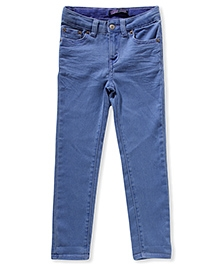 LEVIS Daria Cuffed Denim Jeans - Blue