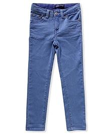LEVIS Daria Cuffed Denim Jeans - Blue