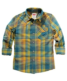 LEVIS Long Sleeves Denton One Pocket Shirt