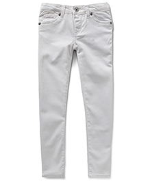 LEVIS Connie Super Soft Cropped Sateen Jegging - White