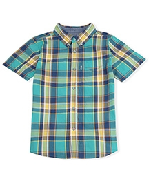 LEVIS Half Sleeves Belgrade One Pocket Shirt - Checks Pattern