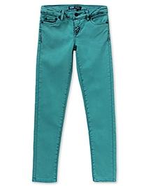 LEVIS Ofelia Overdyed Denim Legging - Aqua Blue