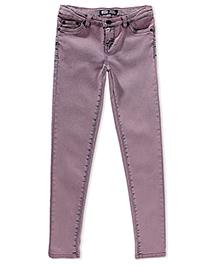 LEVIS Ofelia Overdyed Denim Legging - Lavender