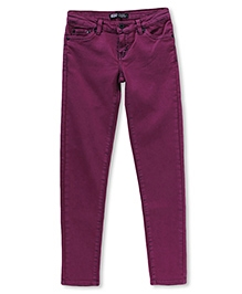 LEVIS Ofelia Overdyed Denim Legging - Purple