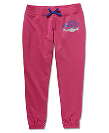 Nike Action Cuffed Trackpant - Pink
