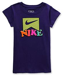Nike Dot Dot Dot Short Sleeves Tee Violet