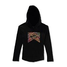 Nike Full Sleeves SB Yarn Bombed Logo Hooded Sweatshirt - Black