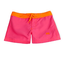 Nike Solid Action Board Shorts with Tie Knot - Pink