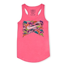 Nike Sleeveless Under The Sea Tank Top - Pink