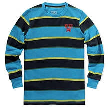 Nike Y-D Striped Thermal Crew - Blue