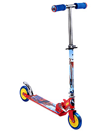 Spider Man Two Wheel Foldable Inline Scooter