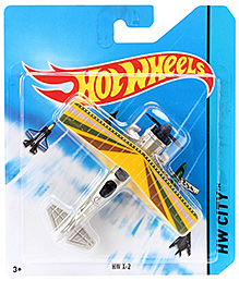 Hotwheels HW City Fang Fighter - Yellow
