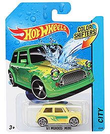 Hotwheels Color Shifter 61 Morris Mini Car