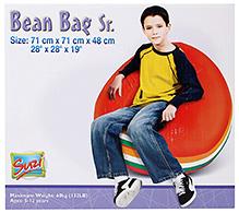 Suzi Bean Bag  Sofa Sr - Orange