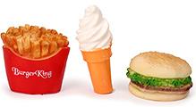 Speedage Burger Chips And Icecream Set - Set of 3