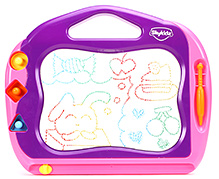 Mitashi Skykidz Color Doodle Amaze 3 Years+, An incredible magnetic drawing board