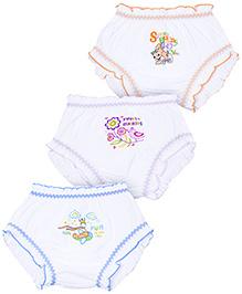 Bodycare Multi Image Print Panties - Set of 3