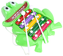 Prime Creations Pull Along Frog Xylophone
