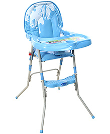 Fab N Funky Baby High Chair - Blue