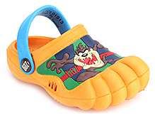 Looney Tunes Clogs with Animal Motif - Orange