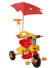 Fab N Funky Tricycle with Umbrella - Orange