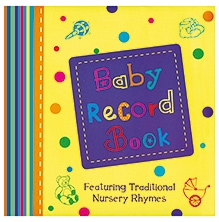 Parragon Baby Record Book Nursery Rhymes - English