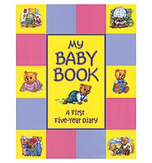 Five Mile Press My Baby Book - English