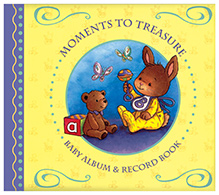 Brown Watson Moments To Treasure Baby Album And Record Book